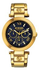 Versus By Versace Women's Camden Market Watch SCA040016 Gold IP Steel Date
