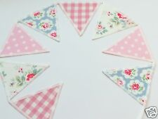 FABRIC BUNTING CATH KIDSTON & LAURA ASHLEY FABRIC Gingham, Trailing Floral, Star