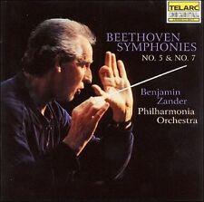 Beethoven: Symphonies No. 5 & No. 7 Benjamin Zander, Philharmonia Orchestra Aud