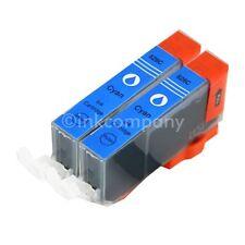 2x für CLI 526 cyan für PIXMA IP4850 IP4950 IX6520 IX6550 MG5350 MG6120 MG6150