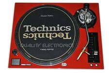 Technics Face Plate For Technics SL-1200/SL-1210 M5G Turntable (Red)