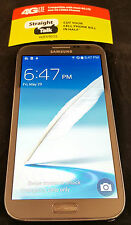 Unlocked Straight Talk Samsung Galaxy Note 2 II 16GB - 4G LTE Verizon Towers