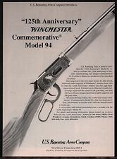 1991 WINCHESTER Model 94 Commemorative Lever-action RIFLE~US Repeating Arms AD
