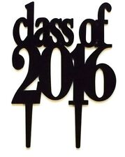 Class of 2016 Graduation Cake Topper Party Decoration High School College Sign