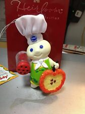 PILLSBURY DOUGHBOY GIGGLING ORNAMENT---WORKS--HEIRLOOM COLLECTION----------ls