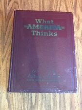 What America Thinks 1941 Editorials and Cartoons Munich Crisis WWII PC32