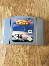 Automobili Lamborghini Nintendo 64 N64 Game Cart Works NG1