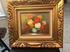 Oil Painting On Canvas Signed By Robert Cox