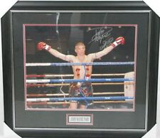 JOHN WAYNE PARR JWP Hand Signed & Framed Huge 16'x20' Photo
