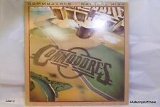 Commodores Natural High LP-EX Condition and Cover GOOD condition 33