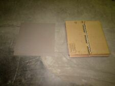 "JOHNSONITE C 80 24"" X 24"" 3/16"" THICK RUBBER FLOOR TILE- FAWN (BOX OF 6)**NIB**"