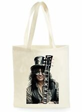 SLASH GUITAR COOL FASHION POSTER SHOPPING CANVAS TOTE BAG IDEAL GIFT PRESENT