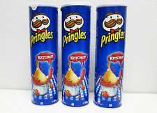 Pringles Ketchup Potato Chips - PACK of 3 Cans - Made in Blegium
