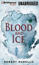 BLOOD AND ICE unabridged audio book on CD by ROBERT MASELLO