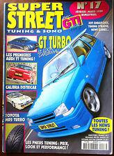 GTI Plus n°17 du 2/1999; Calibra Districar/ Toyota MR2 Turbo/ Audi TT Tuning