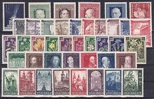Österreich Jahrgang  1948 postfrisch**41 Werte