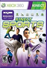 KINECT SPORTS XBOX 360 KINECT! BOWLING, SOCCER, VOLLEYBALL, BOXING, TENNIS TRACK