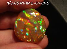 20,6ct! BRILLIANZ 5! INVESTMENT WELO OPAL  ROT-GOLD-GRÜN  VIDEO FLASHFIRE-OPALS*