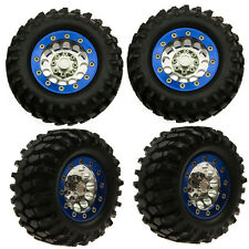 "4Pcs Beadlock 1.9"" Wheel Rims +108mm Tyre Tire For Crawler RC4WD SCX10"