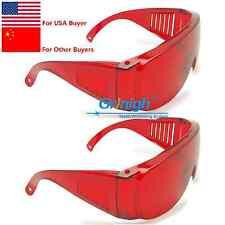 2x Dental Protective Goggles for Violet/Blue/Green 200-560 Laser Safety Glasses