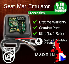 Fit Mercedes benz passenger seat occupancy mat airbag bypass emulator SRS sensor