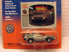 BACK TO THE FUTURE DeLOREAN MR FUSION TIME MACHINE 1:64 SCALE JOHNNY LIGHTNING
