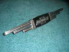 VINTAGE 1930S 1937 CHEVROLET BOWTIE TRUNK EMBLEM COUPE SEDAN CONVERTABLE HOT ROD