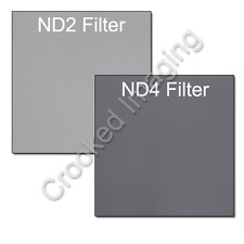 Kood Neutral Desnity ND Filter Kit 100mm ND2 ND4 - Fits Lee, Cokin & Hitech