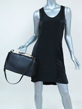 Marni Bag Sculpture Medium Leather with Gold Handle Black $1510 Carried Once