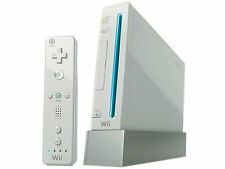 NINTENDO WII WHITE CONSOLE MODED NTSC  +4gb sd card filled with games