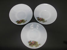 3 x 1960s 70s JAJ Pyrex Tally Ho Design Saucers - Spares - Replacements - Lovely