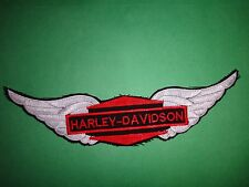 New HARLEY-DAVIDSON Winged Insignia Machine Embroidered Patch