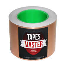 """3"""" x 36 yds (76mmx33m) Copper Foil Tape / EMI Conductive Adhesive /Ship from USA"""