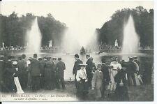 CPA -78 - VERSAILLE - El Parque - Los grandes agua - el Tanque d'Apollon