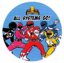 "Power Rangers All Systems Go 3"" Button PB4539-3"
