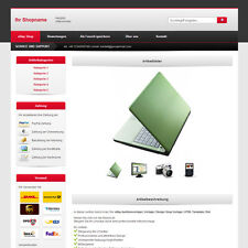 eBay Template | Listing Templates | Design ShopTemplate | HTML Template | Red