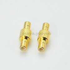 SMB male to male plug straight RF connector adapter