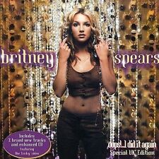 Oops I Did It Again (Special UK Edition) by Britney Spears (CD, Oct-2000, Jive)
