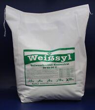 20kg VOLLWASCHMITTEL WEISSYL WASCHMITTEL DETERGENT DETERGENTE WASHING POWDER
