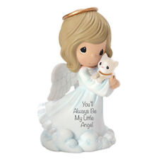 $ PRECIOUS MOMENTS Figurine YOU'LL ALWAYS BE MY LITTLE ANGEL Statue CAT HEAVEN