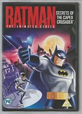 BATMAN Secrets Of The Caped Crusader  UK R2 DVD mint condition - ANIMATED SERIES