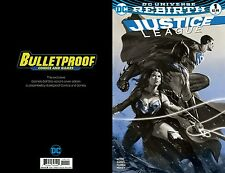 Justice League Rebirth#1 B&W Dell'Otto Bulletproof NM BUY FROM the SOURCE! NM!