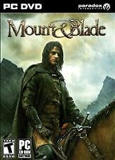 Mount & Blade (PC, 2008)  and  Windows 98/2000/ME/XP/Vista  RPG