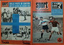 """SPORT ILLUSTRATO N°7/ 17.FEB.1955 - IL RITIRO DI BARTALI - FRIZZI """"IN EXTREMIS """""""