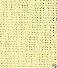 1 Metre 6 Count Vanilla Binca Cross Stitch Fabric