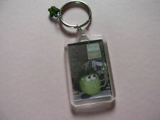 Voilent Veg Keyring. 'The apple was really cool with his new pPod'