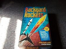 Backyard Rocket Model Kit - Builds 6 Rockets w/ Project Book For Kids