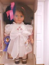 Lissi Fashion Doll November 1993 Sasha Black Hair Blue Eyes Certificate Germany