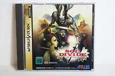 Sol Divide Sega Saturn SS Japan Import US Seller SHIP FAST