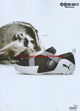 "Puma ""SOoo fast"" Trainers 2006 Magazine Advert #2538"